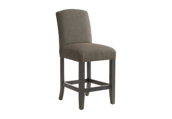 side angle of 10202 transitional bar stool that is customizable by vogel