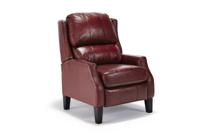 This chair comes in a manual or power recliner