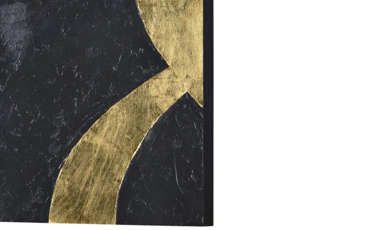 detailed look at kobe a black and gold painting
