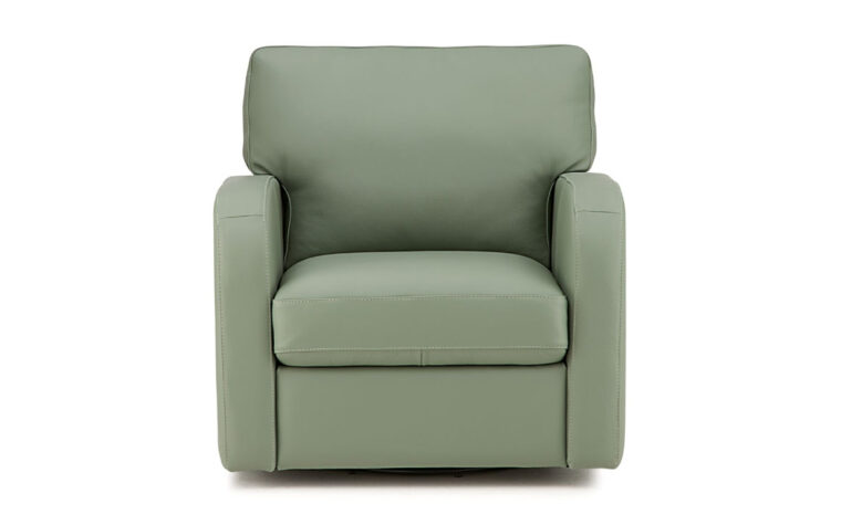 westside chair from palliser is a contemporary chair in a green fabric