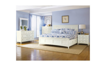 Kentwood bedroom collection with under-bed storage