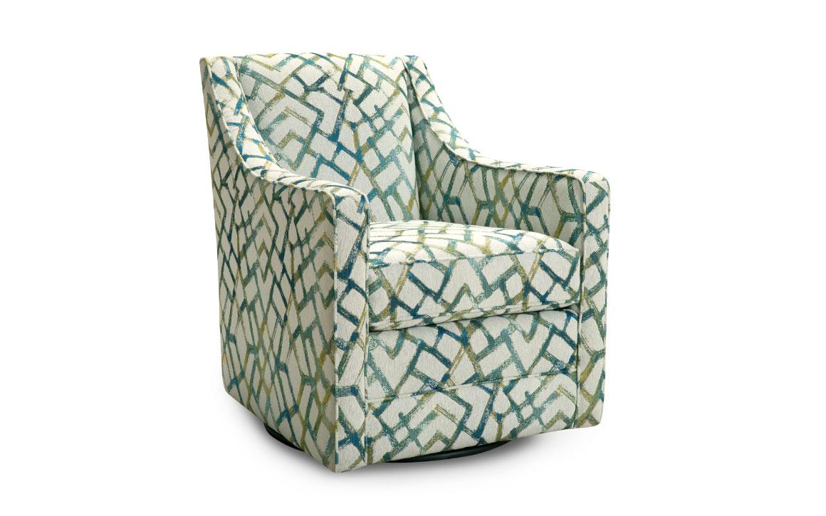 Charlotte Swivel Chair - Chervin Furniture & Design