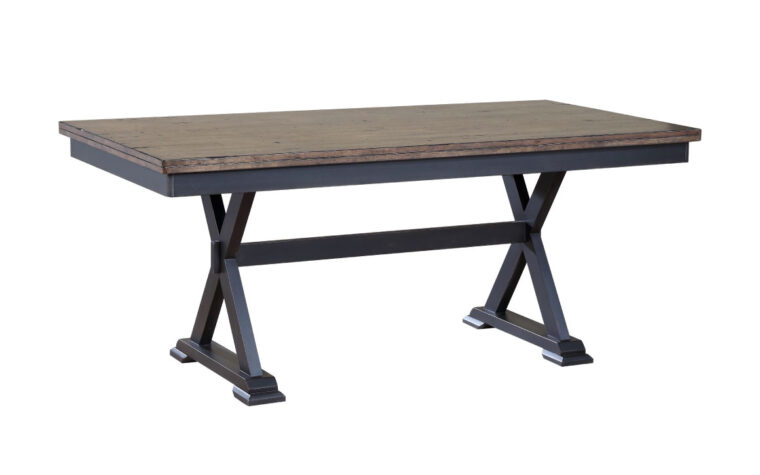 paxton dining table is an industrial dining table from donald choi with a