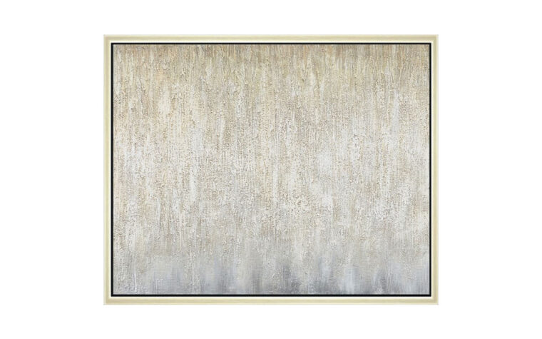 shady sands is a contemporary wall art with a gold frame and glittery embelishments