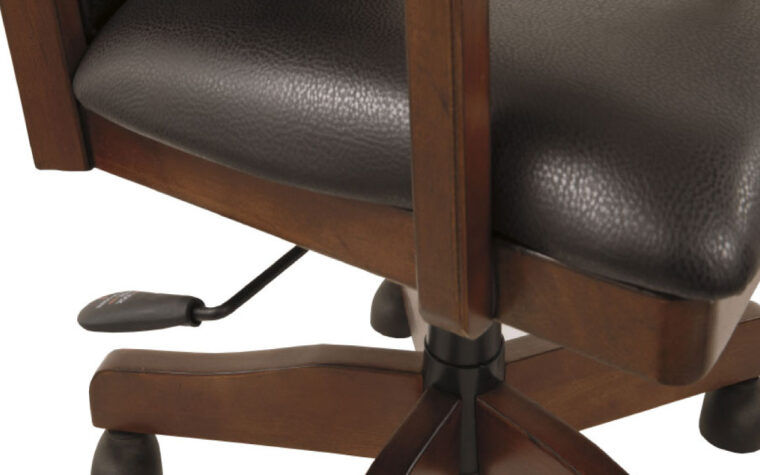 Ashley Hamlyn Office Chair seat detail