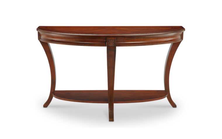 T4415-75 Winslet Sofa Table with beaded aprons
