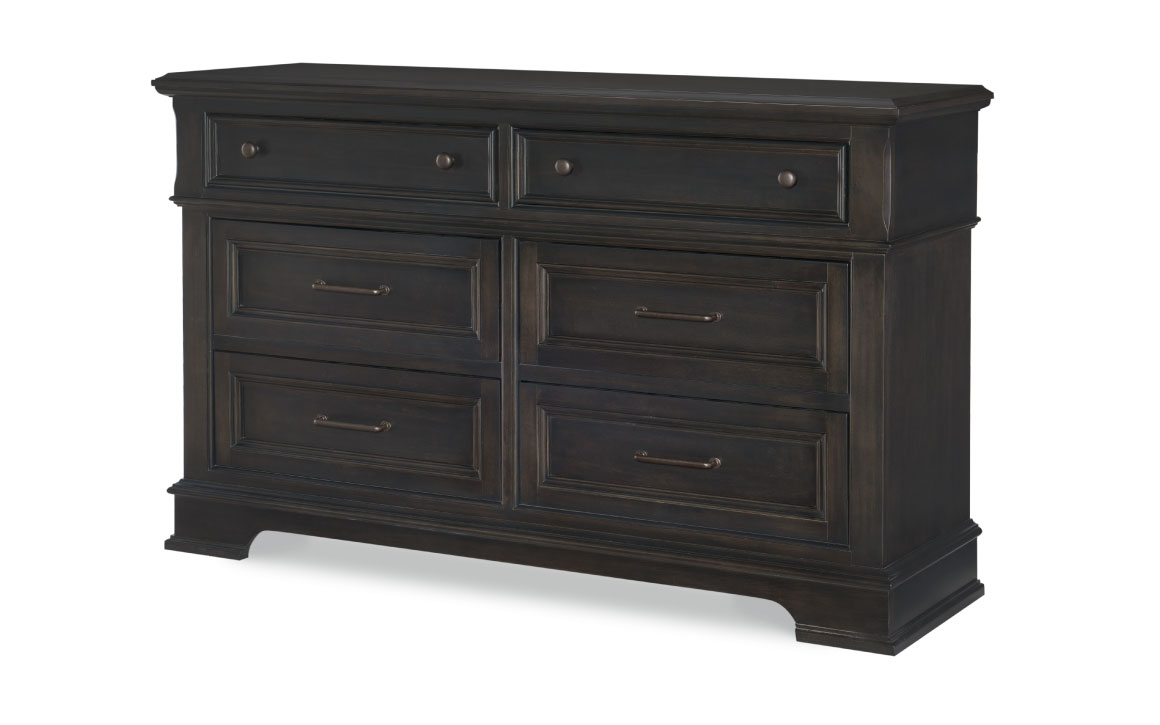 townsend 6 drawer dresser no mirror