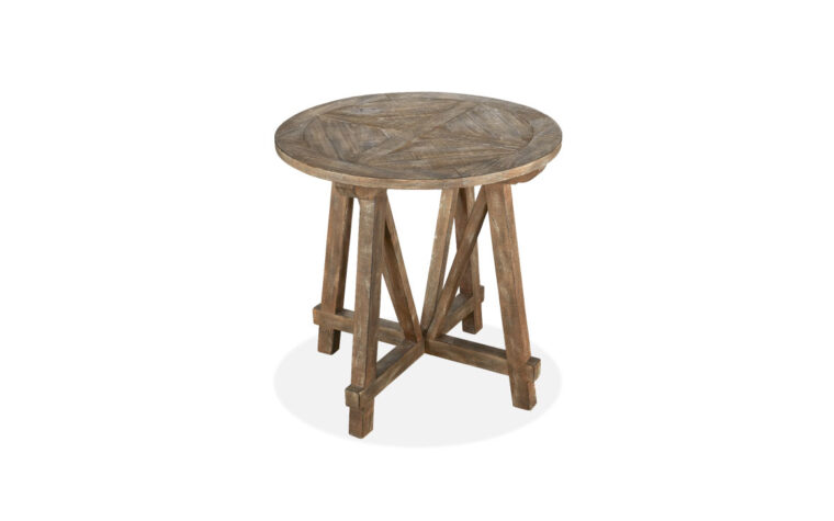 Bluff Heights Round Accent Table top
