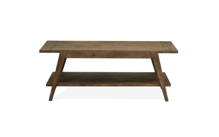 Bluff Heights Shelf Cocktail Table