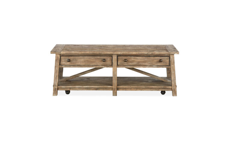 Bluff Heights Rectangular Cocktail Table front