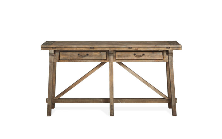 Bluff Heights Flip Top Sofa Table front