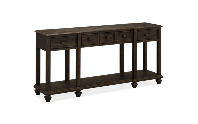 Burkhardt Ruff Sawn Sofa Table