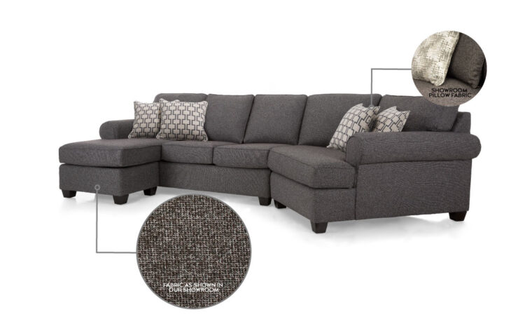 2576 Sectional Showroom Model