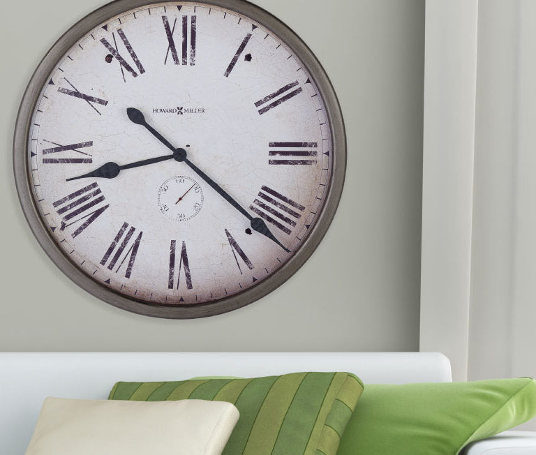 Gallery Pocket Watch Wall Clock in room