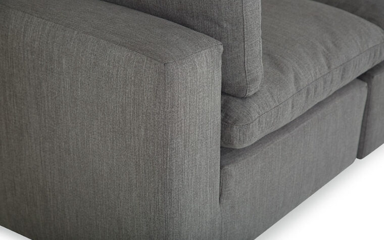 Bloom Modular Sectional - arm detail
