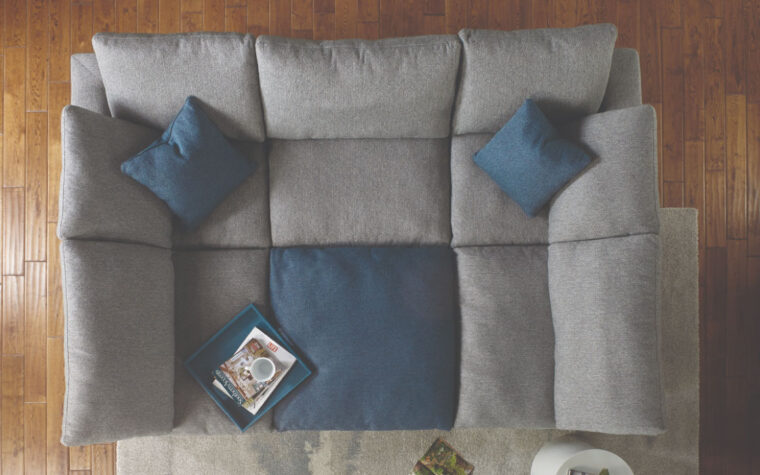 Bloom Modular Sectional top view