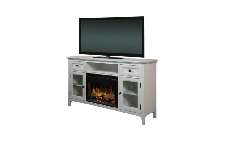 Sophia Media Console Electric Fireplace side