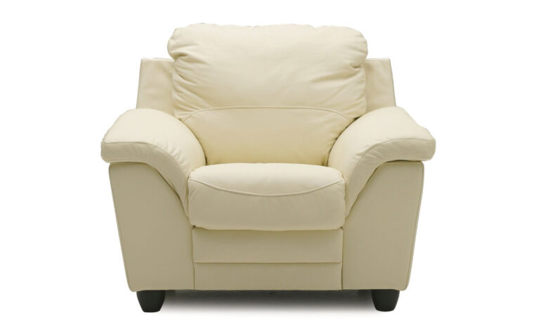 77594 sirus chair in white leather