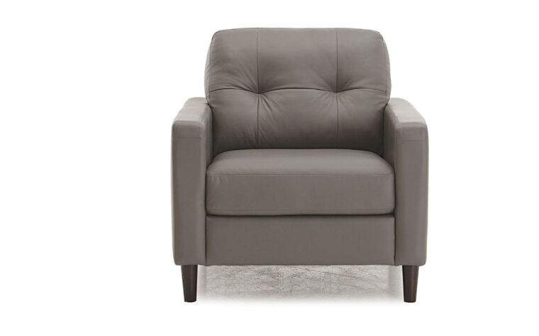 77718-02 beech chair in charcoal leather