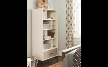 Smart Stuff Furniture - White creative bookcase