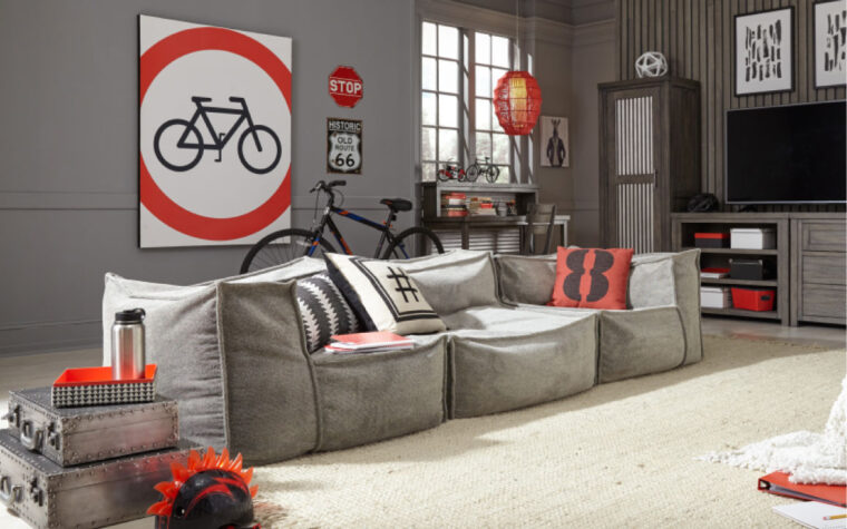 Crash-Pad-Collection Sofa Format