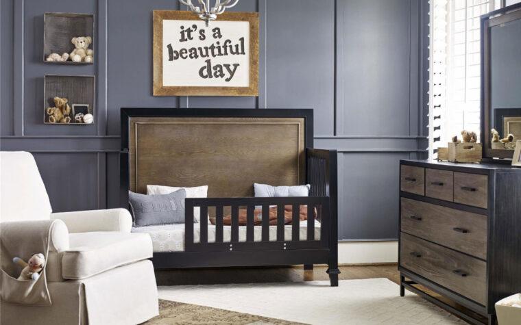 Convertible Crib toddler room