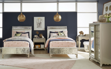 Glitz and Glam bedroom - Legacy Classic