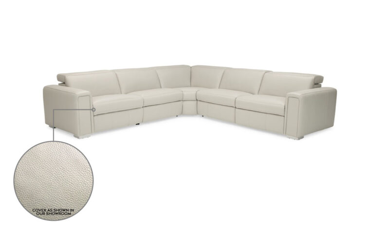 Titan reclining sectional showroom model