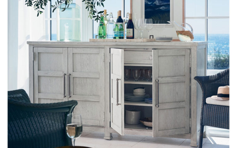 Coastal Credenza open room shot