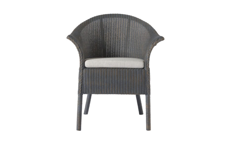 Harbour Dining Accent Chair - Atlantic Blue Finish