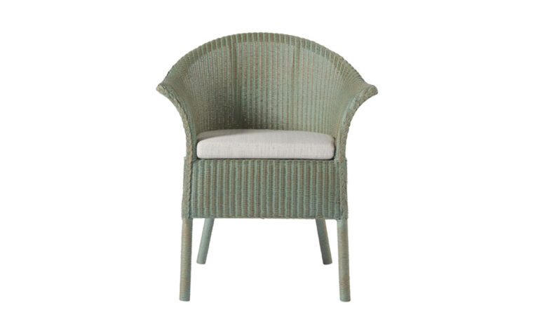 Harbour Dining Accent Chair - Sea Glass Finish