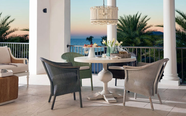 Harbour Dining Accent Chair room shot