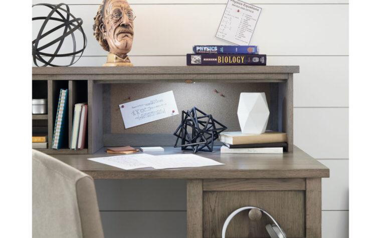 Jr. Study Hall Executive Desk with Hutch - hutch detail