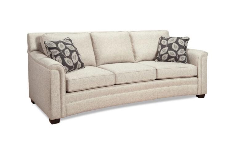 9729 Curved Sofa