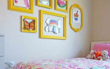 Coordinated Frames for Kids' Art - by