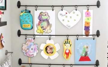 Kids' Art Display - by