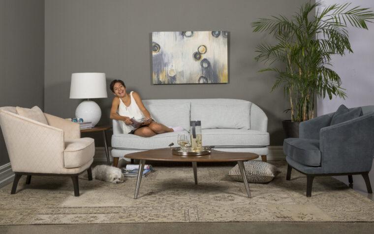 2884 Condo Sofa - room shot