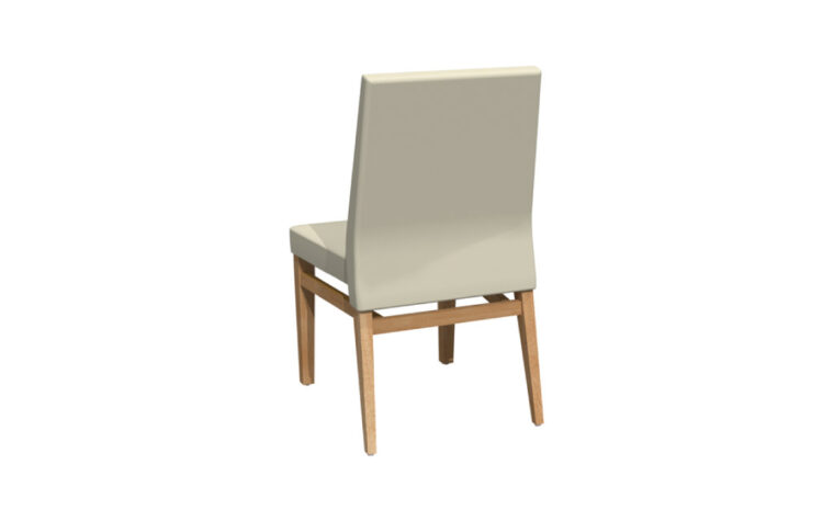Customizable Upholstered Dining Chair back