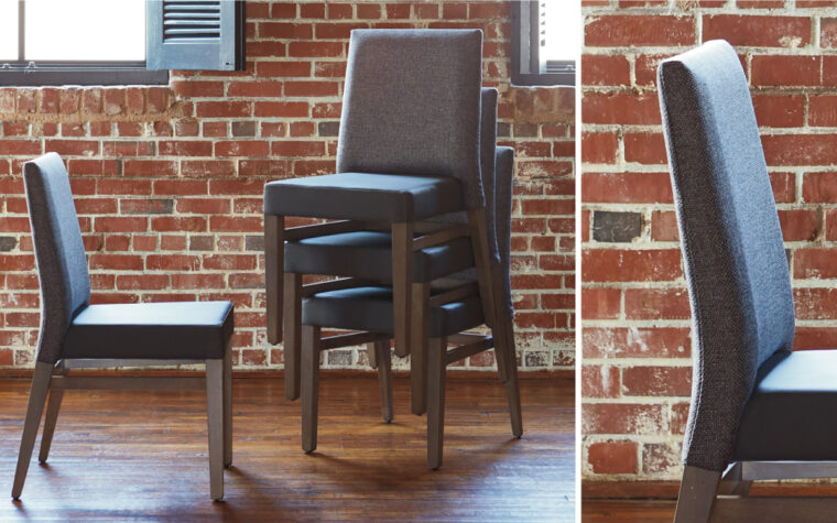 Custom Dining Room Chairs (stacked) - room