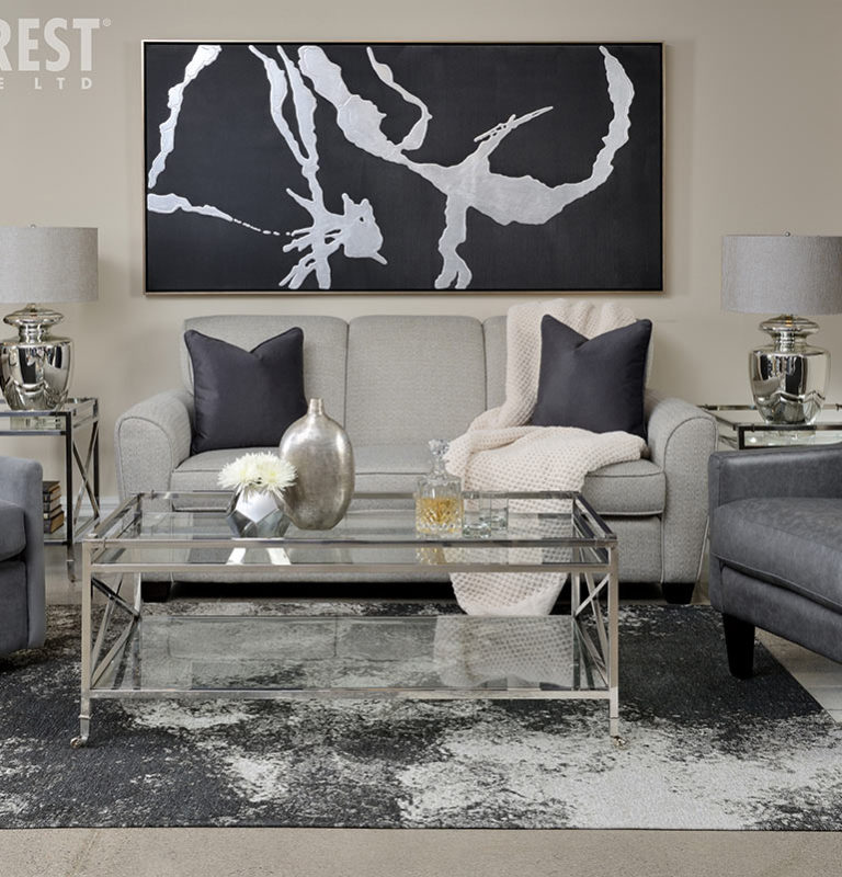 How to Mix-and-Match Styles At Home - consistent colour scheme