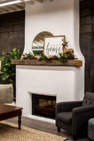 Basement Renos at Chervin Furniture & Design
