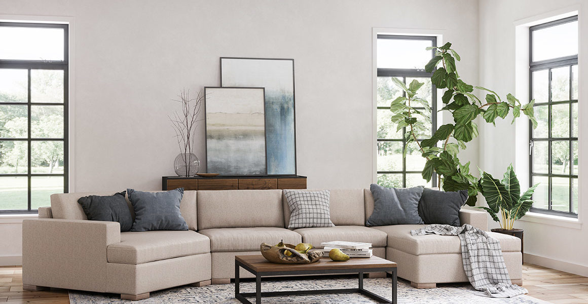 Broadway Sectional Room Shot