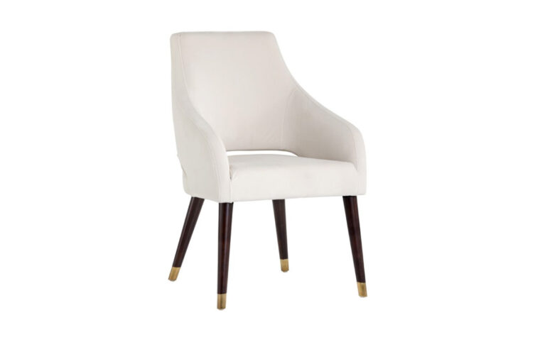 Adelaide Dining Armchair-Calico Cream