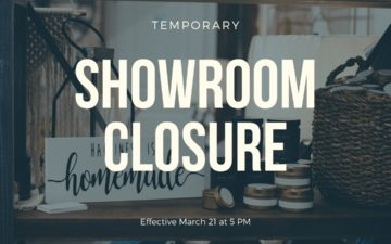 CFD Showroom Closure - COVID-19