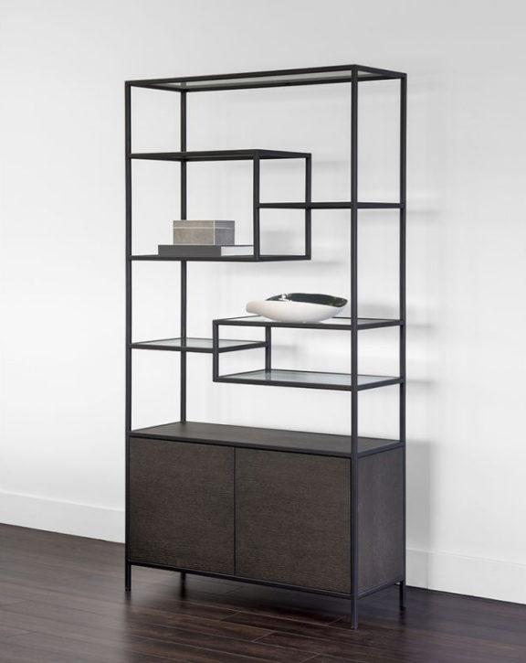 Stamos Bookcase - SUNPAN - declutter