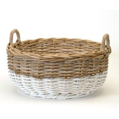 Decluttering - using baskets (Bacon Basketware)