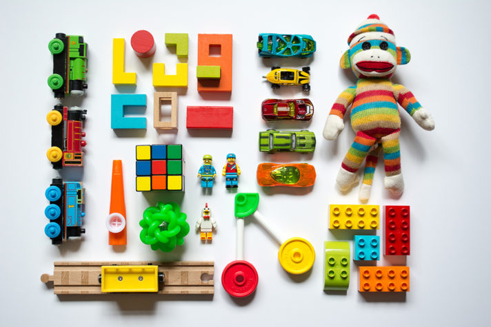 Declutter Your Home - Sorting Toys