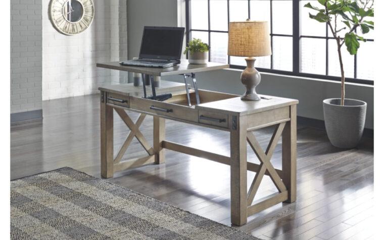 Aldwin Lift-Top Desk - Ashley room shot