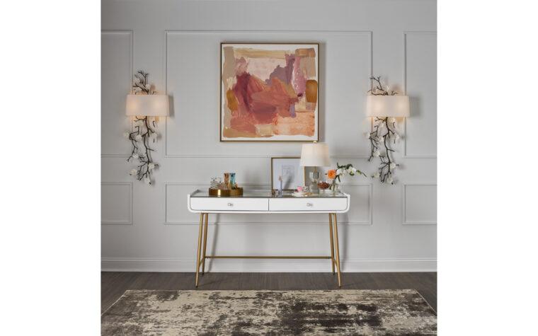 Allure Vanity Desk by Universal Furniture - room shot