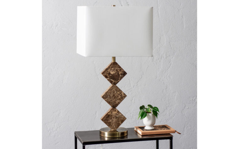 Canaria Table Lamp - room shot - Renwil